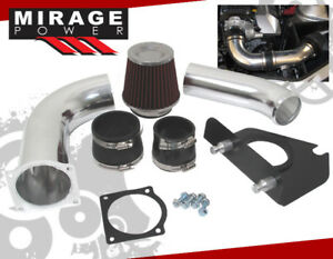Fits 99 04 Ford Mustang Gt 3 8 V6 Cold Air Intake Induction Polish W Dry Filter