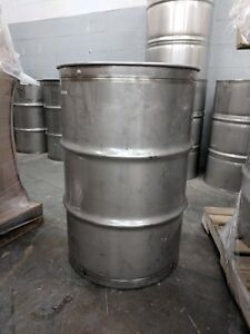 55 Gallon Sanitary Stainless Steel Drum Barrel