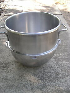 Hobart Vmlhp40 Stainless Steel 40 Quart Mixing Bowl For Commercial Stand Mixer