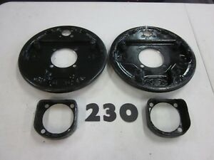 1939 To 1948 Ford Front Hydraulic Brake Backing Plates Pair