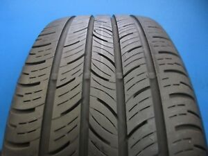 Used Continental Contiprocontact 225 40 18 7 8 32 Tread 1088d