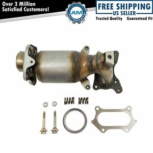 Engine Exhaust Manifold W Catalytic Converter Gaskets Hardware Kit For Cr V