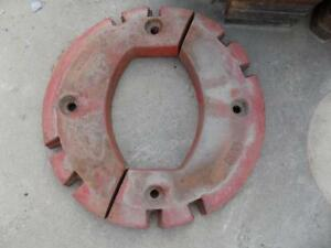 150 Lb Split Wheel Weight For International Harvester Tractors Fits Many Models