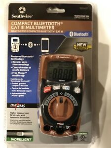 Southwire Bluetooth Cat3 Multimeter New Factory Sealed 16040t