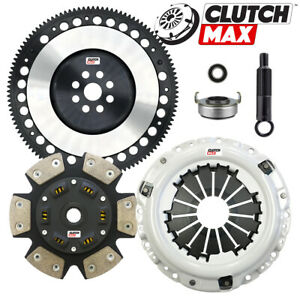 Cm Stage 4 Hd Clutch Kit Racing Flywheel For Acura Integra Dc2 Dc4 B18b B18c