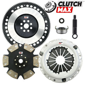 Clutchmax Stage 5 Clutch Kit Chromoly Flywheel For Acura Honda B16 B18 B20 Hydro