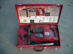 Milwaukee Thunderbolt Spline Rotary Hammer Drill Cat 5311 1 1 2 W case
