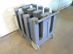cambro Dc700 H d Commercial Plate Holder dispenser carrier Poly Cart caddy