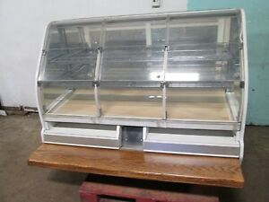 structural Concepts Hd Commercial 59 w Lighted Bakery bagel donut Display Case