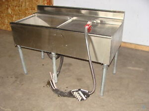 Eagle Insulated Cold Plate Ice Bin With Wunder Bar Gun