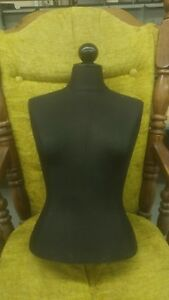 Bust Form Dress Form Female Mannequin Torso For Jewelry Retail Display
