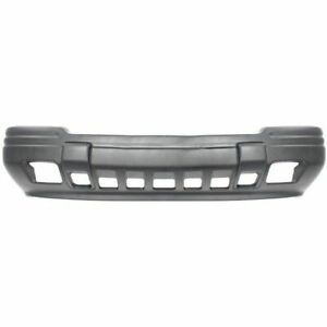 Front Bumper Cover For 1993 1995 Jeep Grand Cherokee Limited W Fog Light Holes
