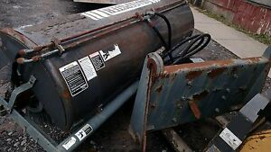 8 Sweepster Hydraulic Power Broom Street Sweeper For Pay Loader Quick Attach