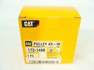 New Genuine Oem Caterpillar Cat 173 1498 8 Groove Idler Pulley Assembly C7 C8 C9