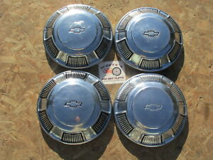 1968 70 Chevy Bel Air Biscayne Caprice Impala Cop Car Poverty Dog Dish Hubcaps
