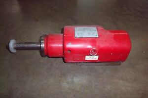 Heald Red Head Rebuilt Grinding Spindle Model 47 1b 12 5k Rpm Spindle