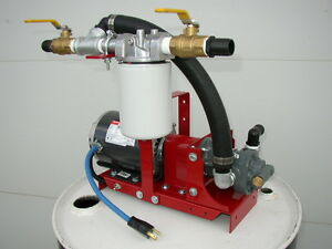New Waste Oil bulk Oil Filtration transfer Pump For Burners heaters transformers