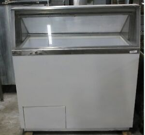 8 Hole Ice Cream Dipping Cabinet