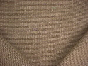 6-1/4Y GLANT MAXWELL COFFEE BROWN TEXTURED BOUCLE DRAPERY UPHOLSTERY FABRIC