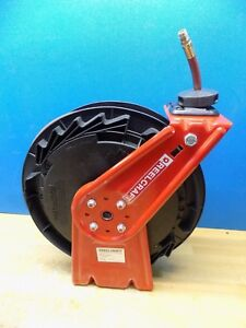 Reelcraft Spring Retractable Hose Reel 50 Ft X 3 8 I d 300 Psi Rt650 olp Used