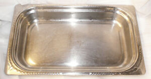 Vollrath Miramar 8230410 Full Size Mirror Stainless Steel Steam Table Pan 2 1 2