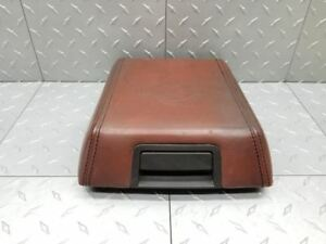04 08 Ford F150 Expedition Center Console Arm Rest Lid King Ranch Tan Leather