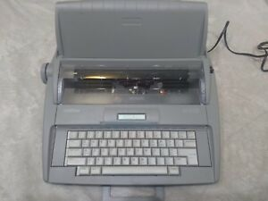 Brother Sx 4000 Electronic Typewriter W Lcd Display Tested And Works