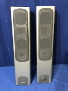Set Of 2 Smart Technologies Smartboard Sba Audio Speakers Only Free Shipping