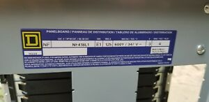 New Square D Nf418l1 Panelboard