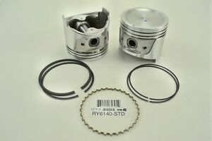 Itm Engine Components Ry6140 020 Piston With Rings