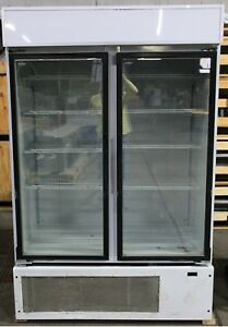 2 Door Freezer Merchandiser White