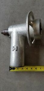 Hobart Heavy Duty Meat Sausage Grinder Qt Mixer Attachment Used