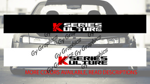 K Series Windshield Decal Car Sticker Banner Graphics Compatible With Honda