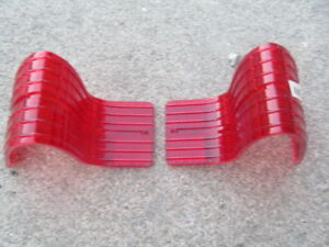 1965 Amc Rambler Classic Station Wagon Nos Tail Light Lenses