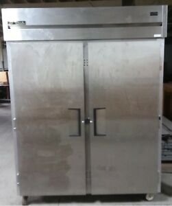 2012 2 Door Xl True Stainless Freezer