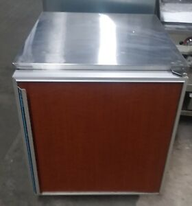 Under Counter Refrigerator Wood Grain Front