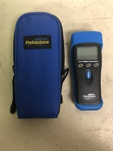 Fieldpiece Srpm2 Optical Hand held Portable Rpm Measure Laser Digital Tachometer