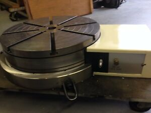 A g Davis Rotary Table Cnc 14 Model Rt16 bbhs 102