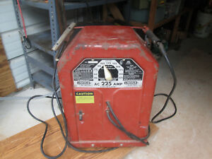 Lincoln Electric Ac 225 Arc Stick Welder Tested Works