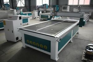 4x8 1300x2500mm Cnc Wood Router For Furniture Cabinet Door Freeship On Sale