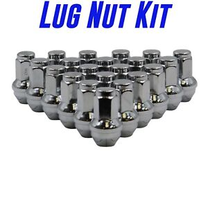 Ford F 150 Expedition Chrome 14x2 0 Oem Factory Replacement Lug Nuts 2004 2014