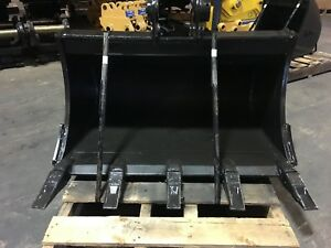 New 36 Heavy Duty Excavator Bucket For A Takeuchi Tb240 W Coupler Pins