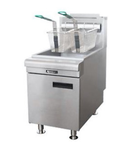 New 45 Lb Gas Counter Top Deep Fryer Adcraft Bdctf75n 6295 Commercial Restaurant