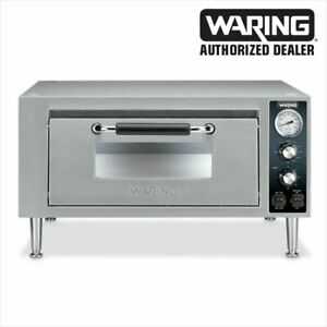 Waring Wpo500 Commercial Single Deck Countertop Pizza Oven 1 Year Warranty Wow