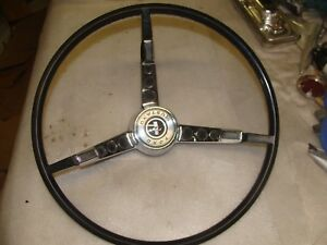 1965 1966 Mustang Steering Wheel And Horn Ring