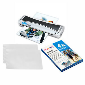 220v A3 Laminator Hot cold Roll Laminating Machine 100 Sheets 4r Laminating Film