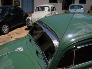 Vw Beetle Bug Windshield Front Window Vent Shade Rain Guard Stainless Shades 52
