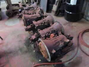 6 Allison Automatic Transmissions At545 643 W Torque Converters Rebuildable