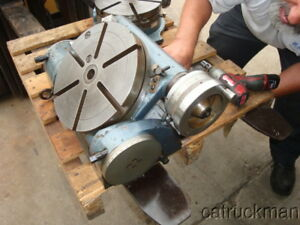10 Yuasa Tilting Rotary Table Horizontal vertical Everything In Between