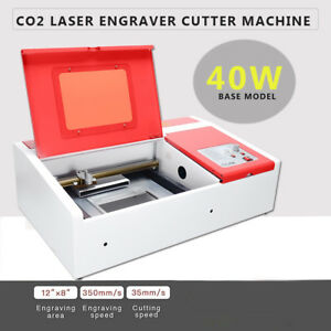 40w Co2 Usb Laser Engraving Cutting Machine Engraver Cutter 300 X 200mm Edy
